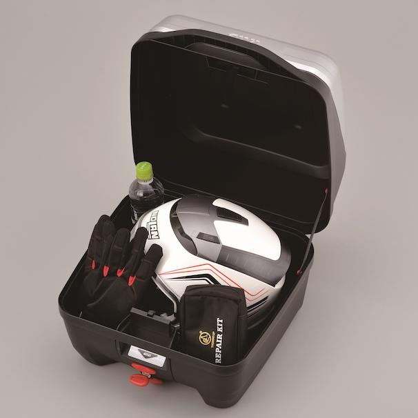 高性能&スタイリッシュデザイン リアボックス B32N BOLD モノロックケース 未塗装ブラック GIVI 97066 (ジビ) 【イタリアブランド】